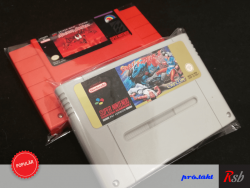 Plastic Sleeve SNES (CART)